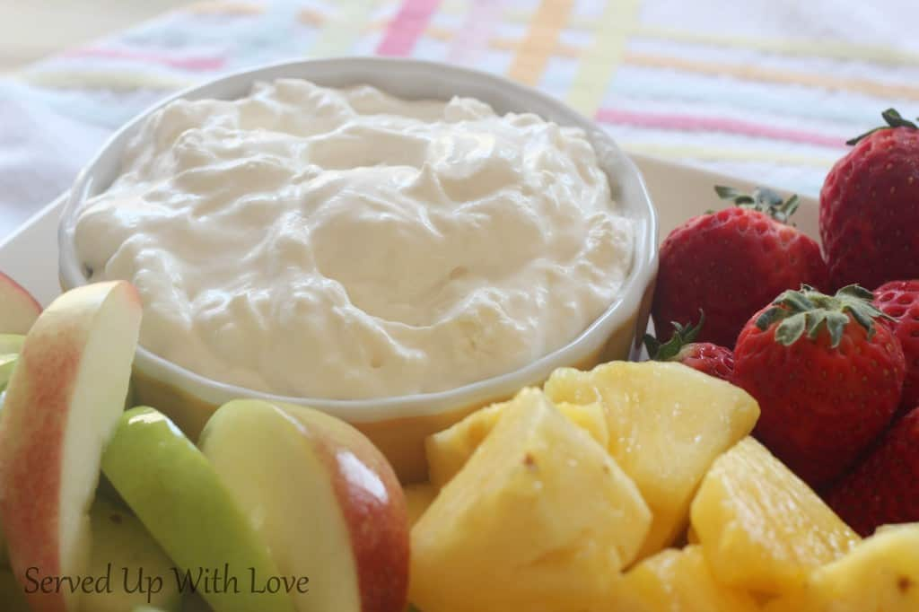 Simple Fruit Dip