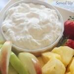 Simple Fruit Dip