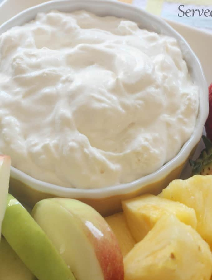 Simple Fruit Dip-Guest Post