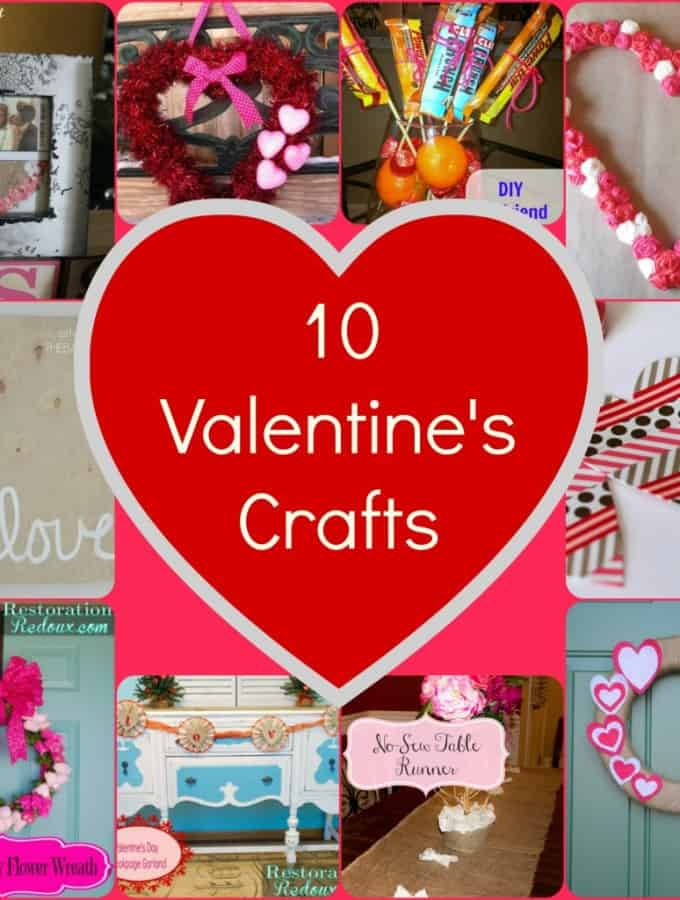 10 Cute Valentine's Crafts