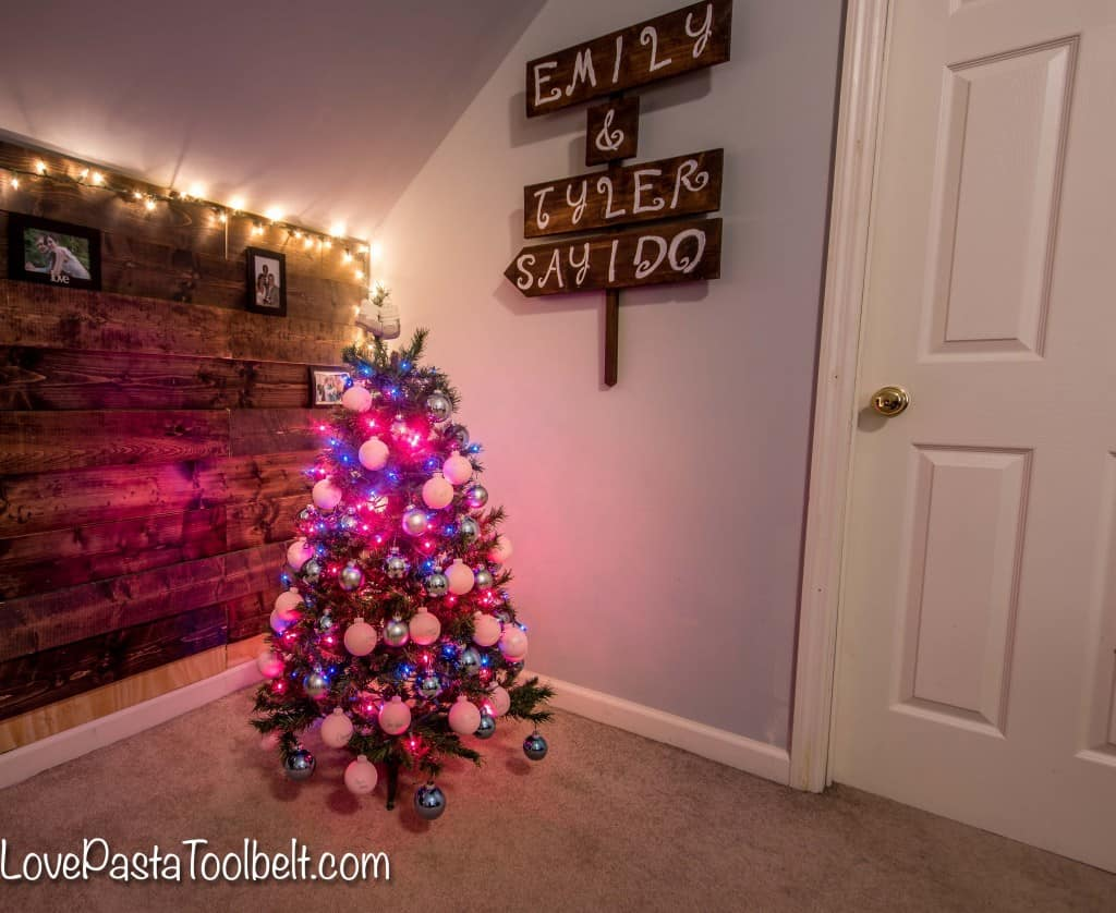 Baby Blue Christmas Lights