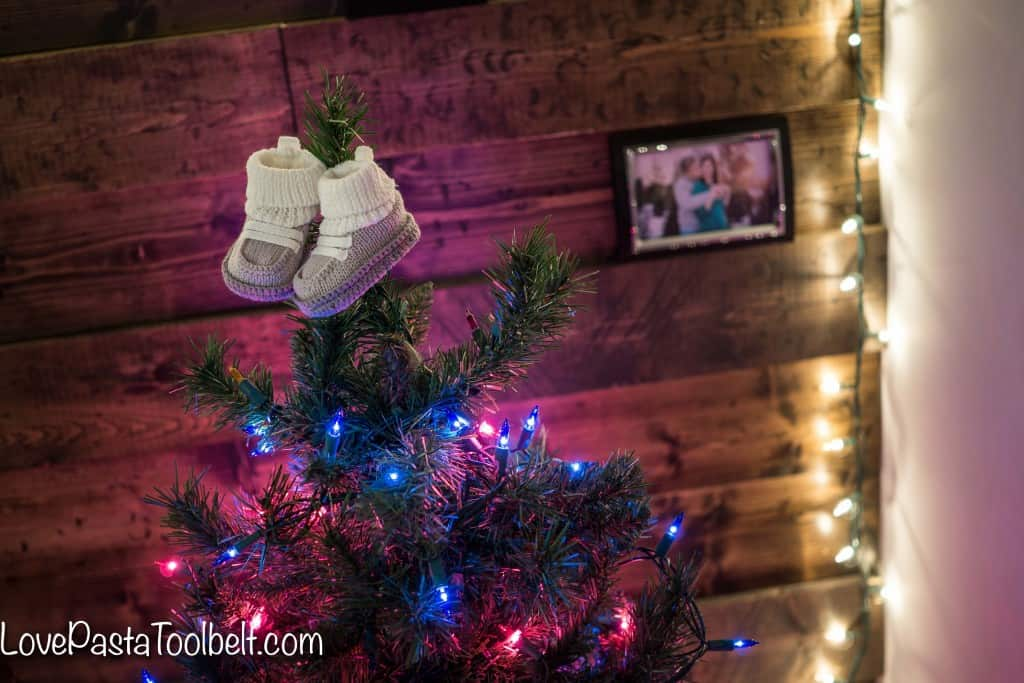 Sharing all the details of our Christmas Gender Reveal and how to plan your own- Love, Pasta and a Tool Belt | Baby | Pregnancy | Gender Reveal | Party Ideas | Baby Girl | Baby Boy |