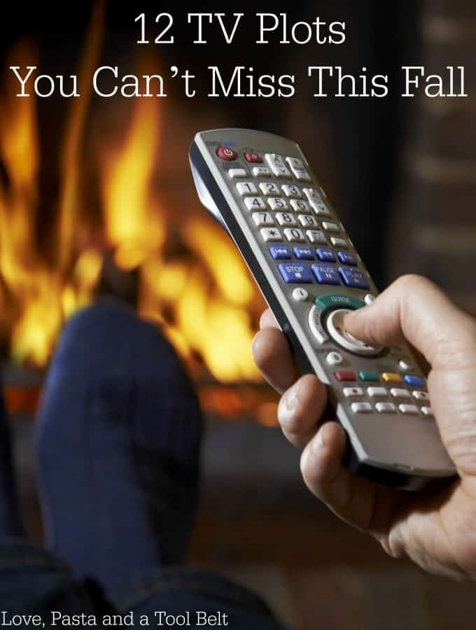 Fall TV is coming back and I've got 12 TV Plots You Can't Miss This Fall!- Love, Pasta and a Tool Belt | Fall TV 2015 | Returning Shows | TV Shows | Television |