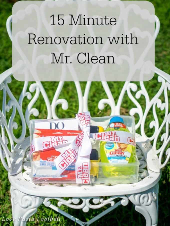 15 Minute Renovation with Mr. Clean