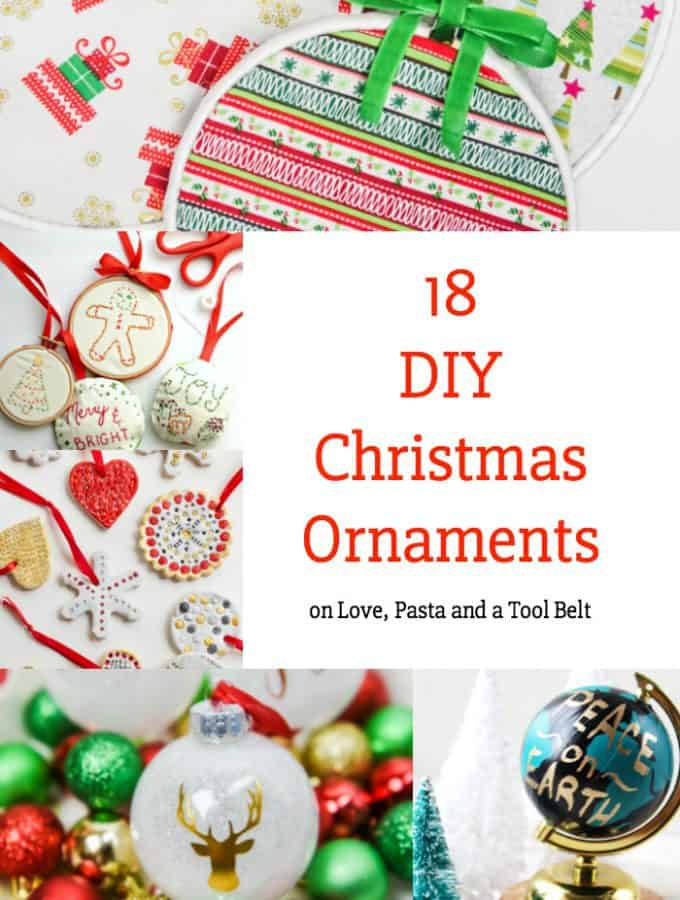18 DIY Christmas Ornaments