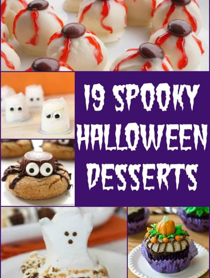 19 Spooky Halloween Desserts