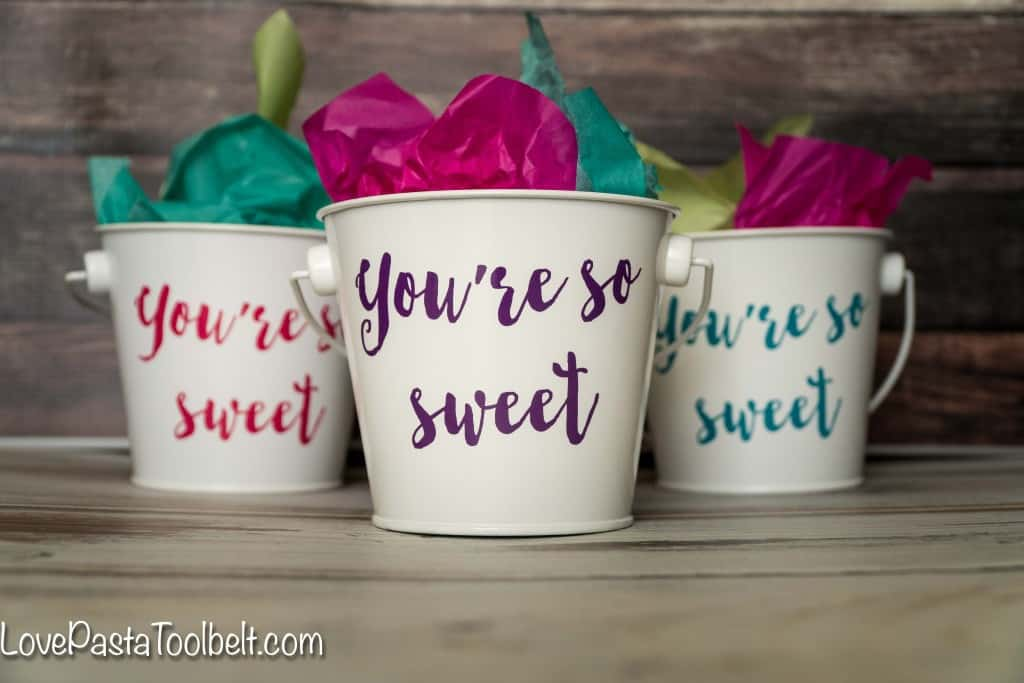"Add a little sweetness to your party with these ""You're So Sweet"" Party Favors"