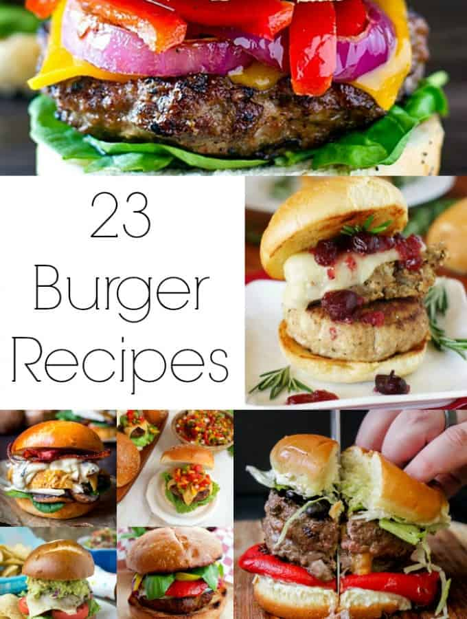 23 Melt in Your Mouth Burger Recipes