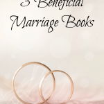 Whether you're engaged or have been married for years you should check out these 3 Beneficial Marriage Books- Love, Pasta and a Tool Belt | marriage | books | wedding | engagement |