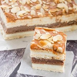 3 Flavor Eclair Cake
