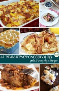 41 Make Ahead Breakfast Casseroles