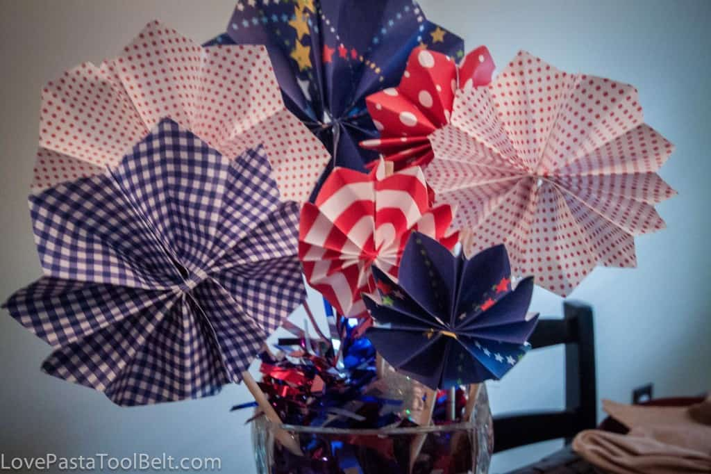 4th of July centerpiece-7