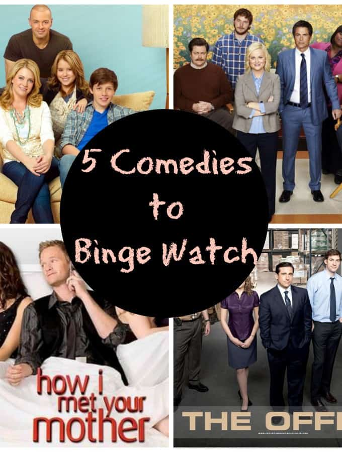 5 Comedies to Binge Watch- Love, Pasta and a Tool Belt