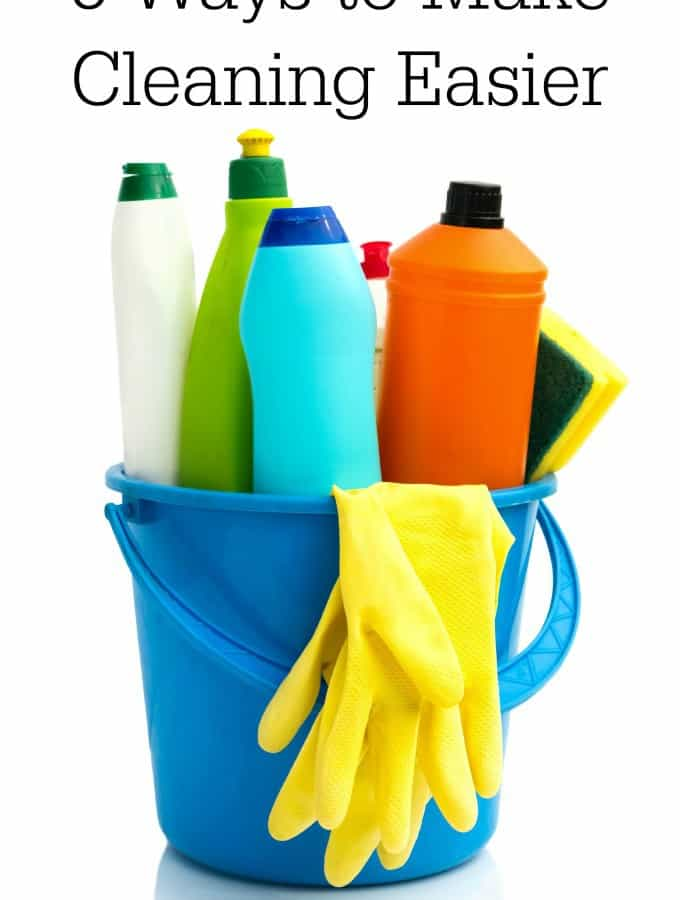 5 Ways to Make Cleaning Easier