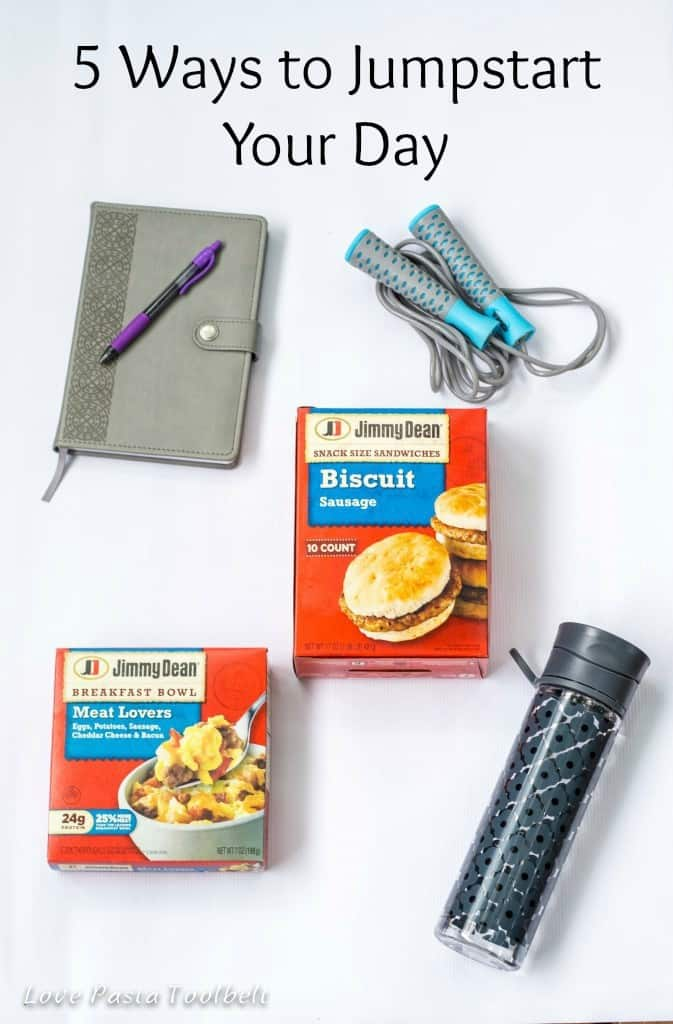 Need to get a lot done? Can't seem to get motivated? I've got 5 Ways to Jumpstart Your Day! - Love, Pasta and a Tool Belt #ad #JDGreatStart #Pmedia