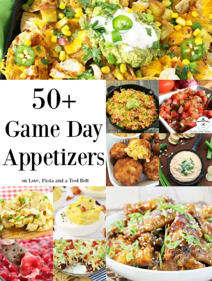 50+ Game Day Appetizers