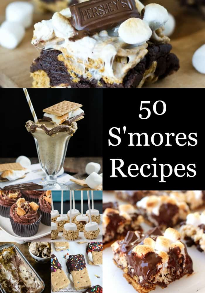 Make one of these 50 Sensational S'mores Recipes for your next party or just