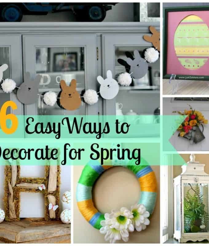 6 Easy Ways to Decorate for Spring