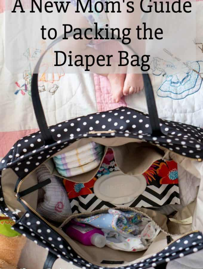 A New Mom's How-to Guide to Packing the Diaper Bag