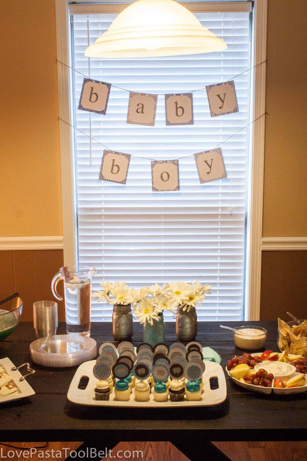 Blue And Gray Baby Boy Shower Ideas, Great DIY Ideas For A Baby Shower