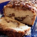 Apple Cinnamon Bread- Love, Pasta and a Tool Belt   apples   bread   desserts   breakfast   recipes  