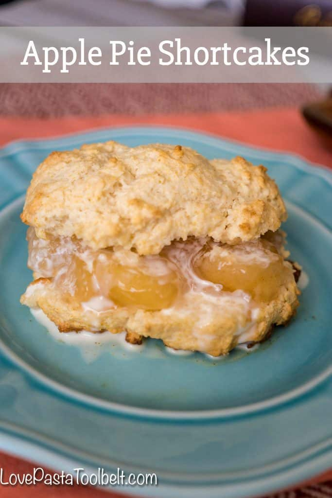 Take a classic dessert and add some apples to make a delicious dessert with these Apple Pie Shortcakes