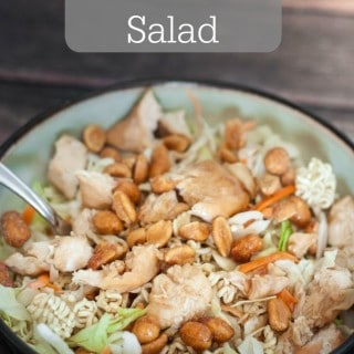 Make healthy eating easier with this Asian Chicken Salad- Love, Pasta and a Tool Belt | salad | salad recipes | recipe ideas | healthy eating|
