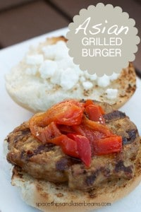 Asian Grilled Burger