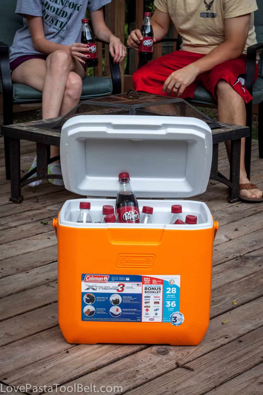 backyard bash with dr pepper love pasta and a tool belt