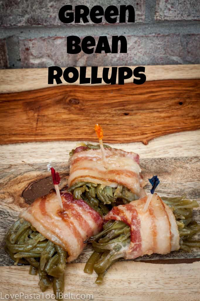 These Green Bean Rollups are the perfect side dish recipe. Easy to put together and perfect for any dinner or party!   recipes   sides   side dish   Thanksgiving  