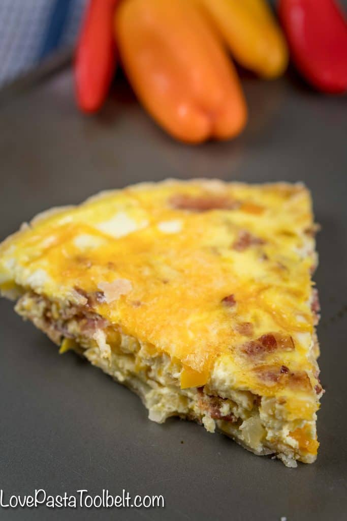 Bacon-and-Bell-Pepper-Quiche