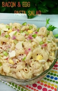 Bacon and Egg Pasta Salad-P