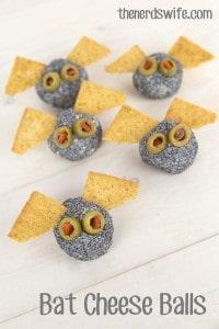 Bat Cheese Balls