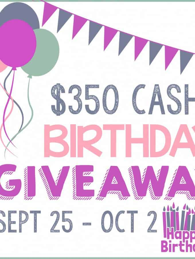 $350 Cash Paypal Giveaway- Love, Pasta and a Tool Belt
