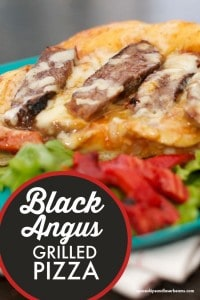 Black Angus Grilled Pizza