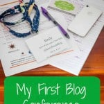 My First Blog Conference where I learned all about blogging and enjoyed some funny speakers- Love, Pasta and a Tool Belt