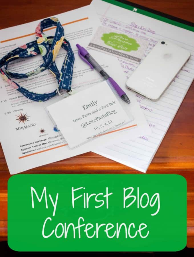 My First Blog Conference