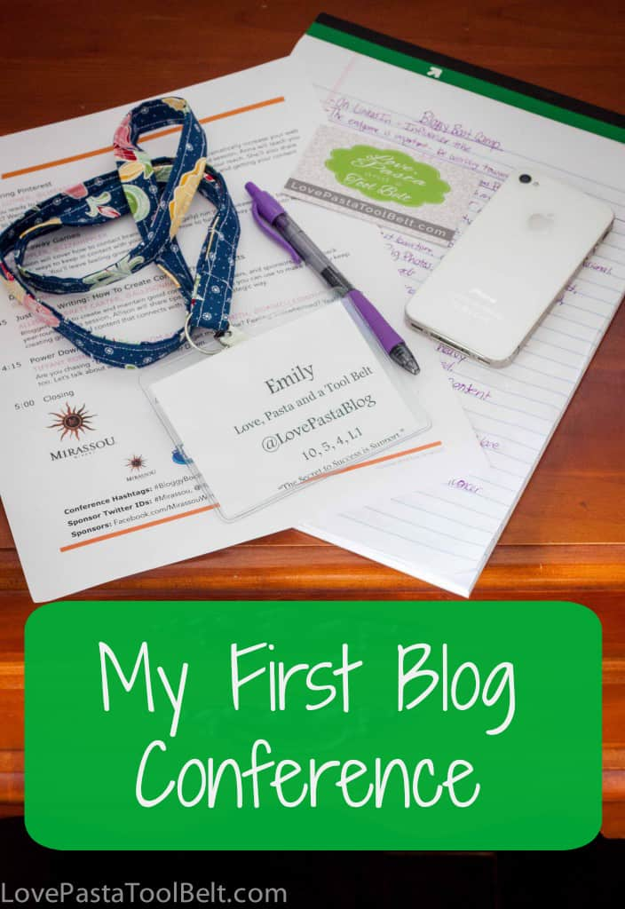 My First Blog Conference where I learned all about blogging and enjoyed some funny speakers- Love, Pasta and a Tool Belt |blog|Conference|Blogging|funny|