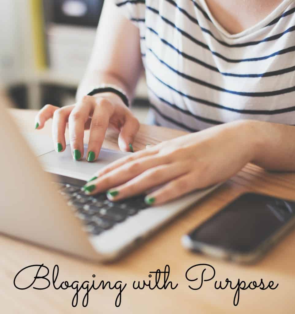 Sharing about why I blog and how I am Blogging with Purpose- Love, Pasta and a Tool Belt | blogging | blog | blog tips | blog monetize |