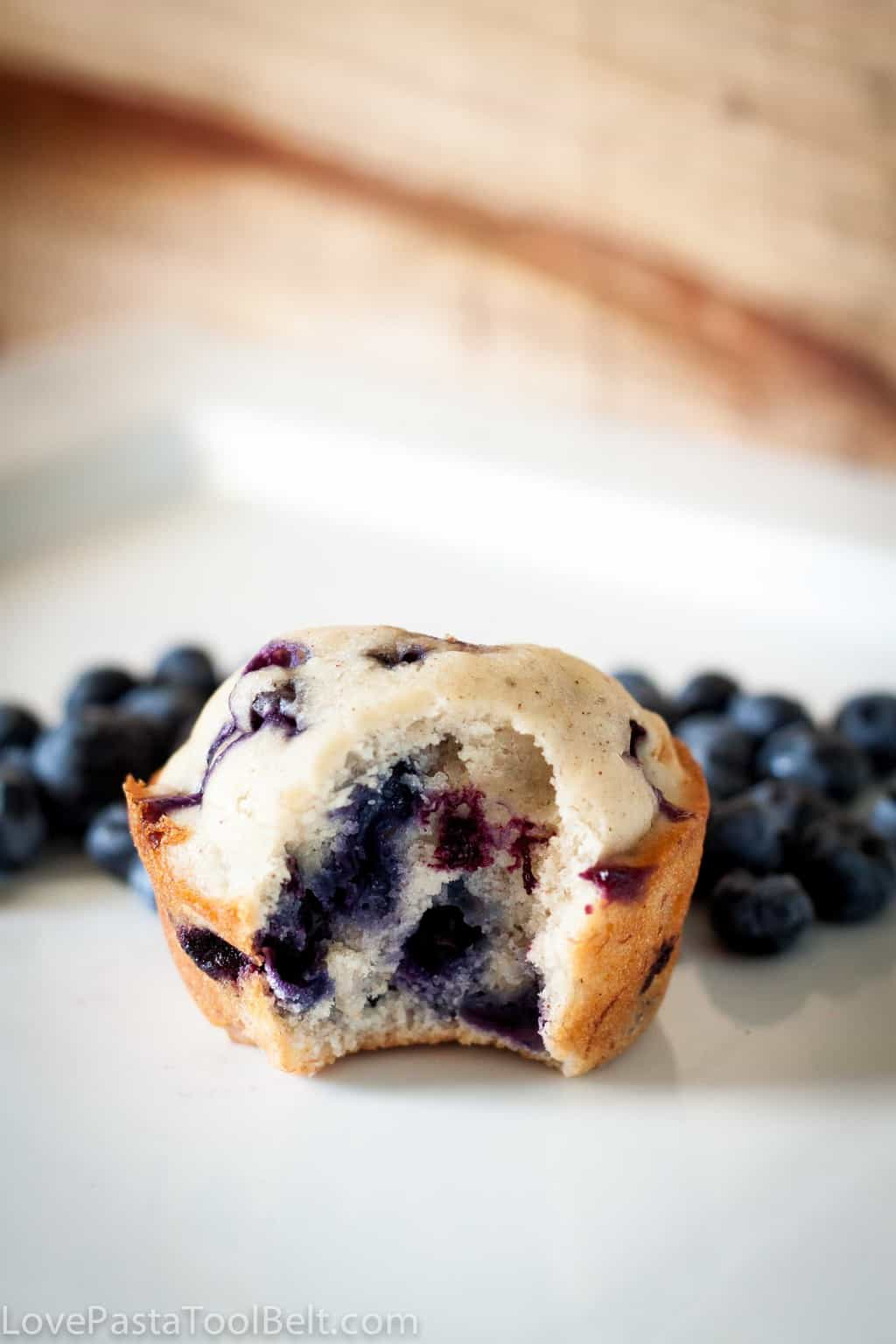 Blueberry Banana Muffins - Love, Pasta, and a Tool Belt