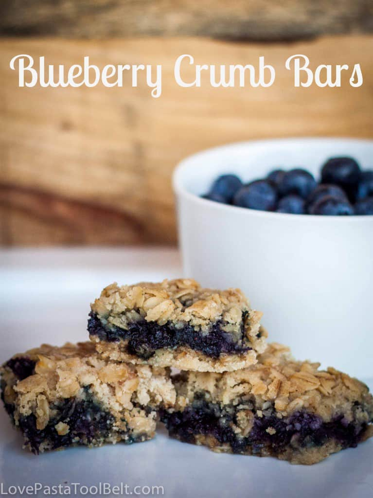 Blueberry Crumb Bars- Love, Pasta and a Tool Belt