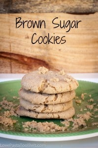 Brown Sugar Cookies- Love, Pasta and a Tool Belt