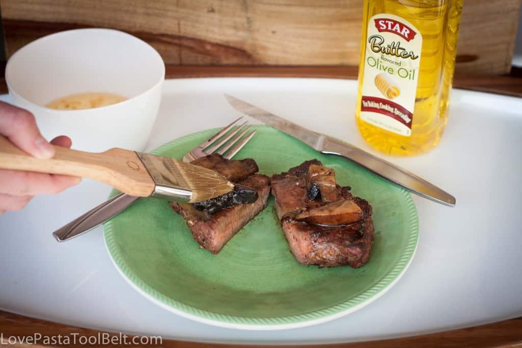Butter Garlic Steak Recipe #shop #cbias