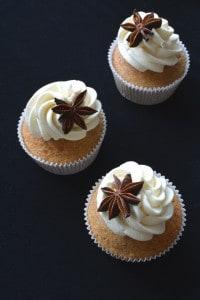 Chai Tea Spiced Cupcakes