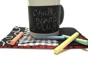 Chalkboard Paint Coffee Mug