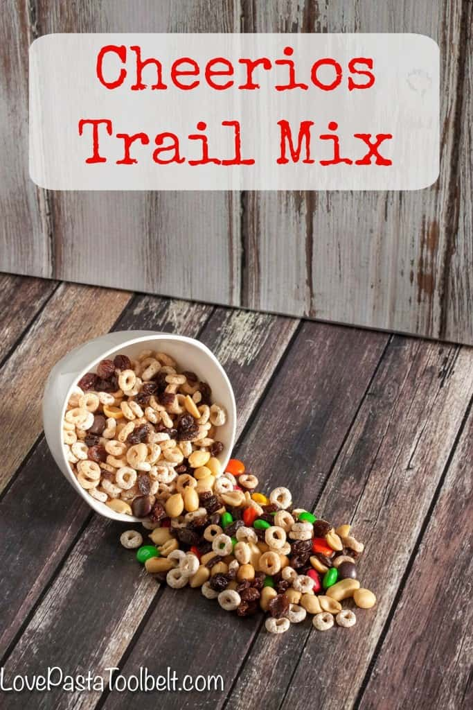 Cheerios Trail Mix makes the perfect afternoon or after school snack for you or the kids!- Love, Pasta and a Tool Belt #CheeriosFunFlavors #ad