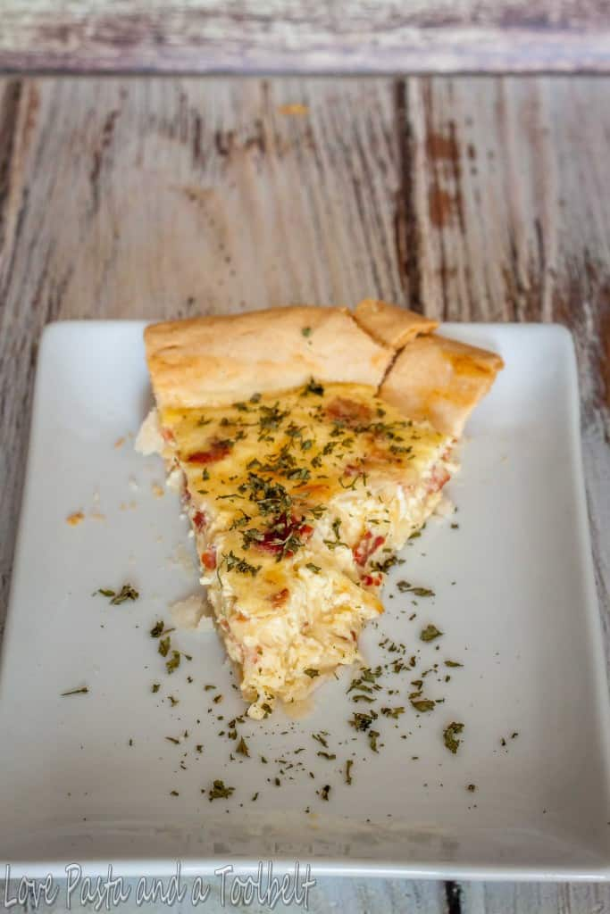Cheese and Bacon Quiche- Love, Pasta and a Tool Belt   breakfast   quiche   recipes   brunch   bacon  