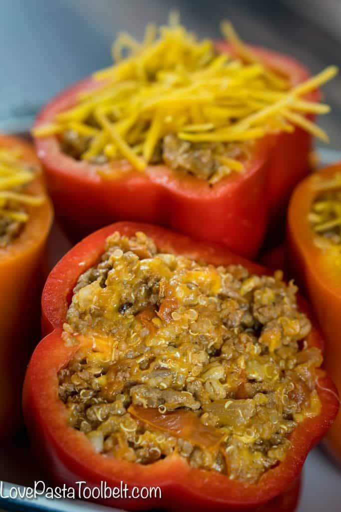 Cheesy-Quinoa-Stuffed-Bell-Peppers