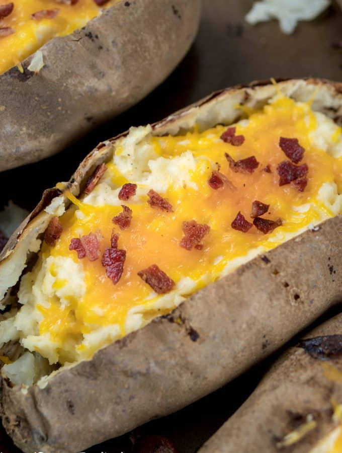 Cheesy Twice Baked Potatoes