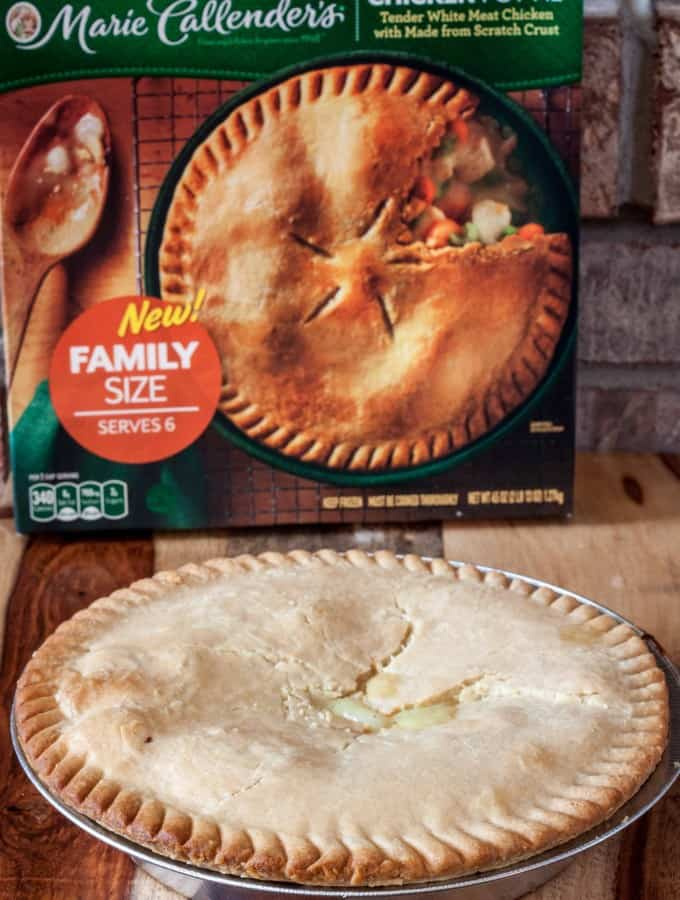 Date Night with Marie Callender's pot pies is a quick and easy dinner idea for your busy nights- Love, Pasta and a Tool Belt #PotPiePlease #ad